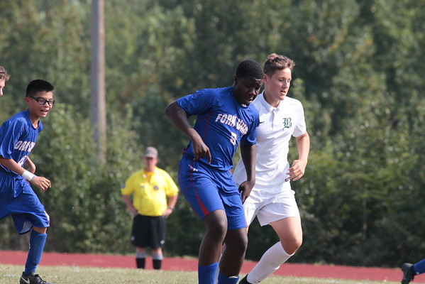 Junior Prep Soccer vs. Benedictine College Prep - Sept 12