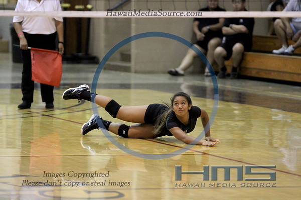 Pahoa Girls Volleyball - Wai 10-29-13