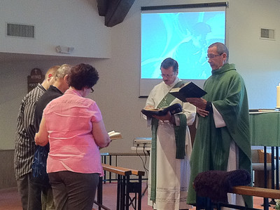 Steve Beck Baptism