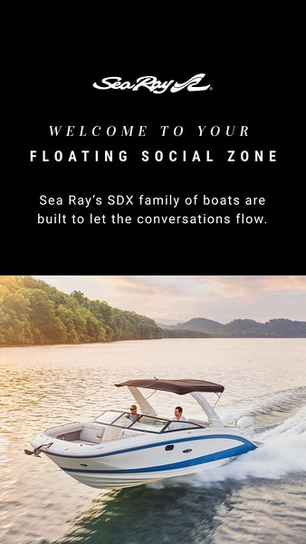 Sea Ray Model Family Social Media