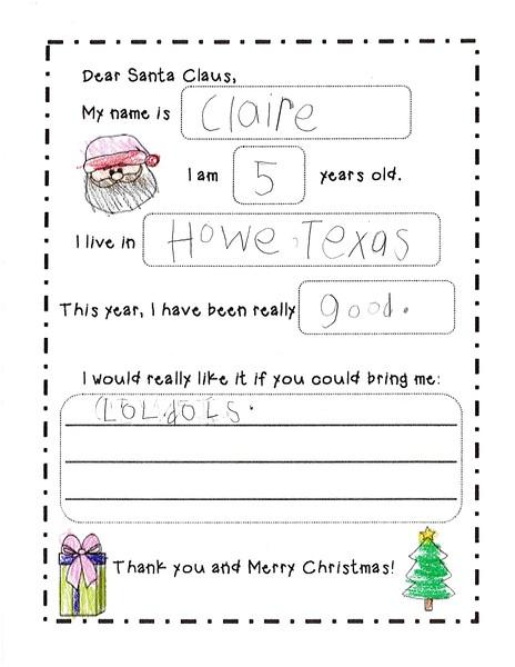 2018 Kindergarten - Mrs. RIchardson Letters to Santa (10).jpg