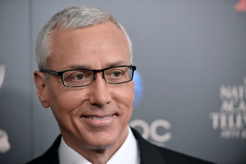 . Dr. Drew Pinsky arrives at the 40th Annual Daytime Emmy Awards on Sunday, June 16, 2013, in Beverly Hills, Calif. (Photo by Richard Shotwell/Invision/AP)