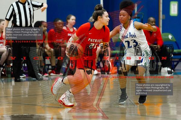 Patriot @ Forest Park Girls Varsity Basketball 1-29-20