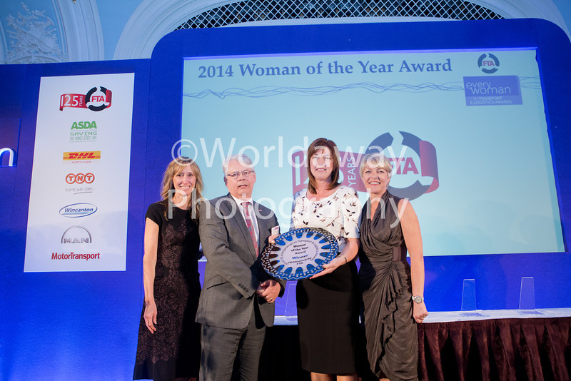 2014 FTA everywoman in Transport & Logistics Awards. The Savoy, London.