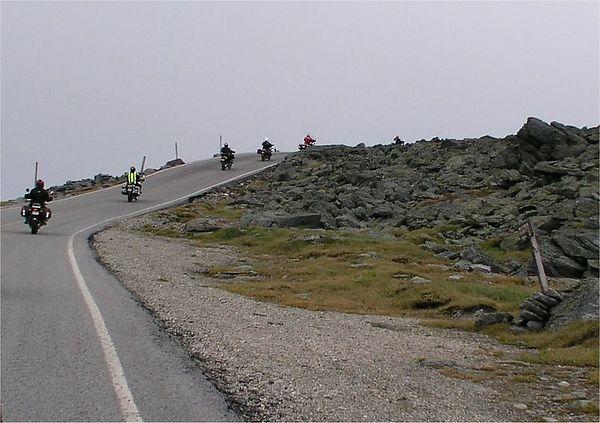 225f Mt Washington road, ascent. photo credit, Gringo
