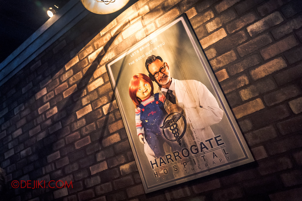 Universal Studios Japan - Halloween Horror Nights / CULT OF CHUCKY haunted house