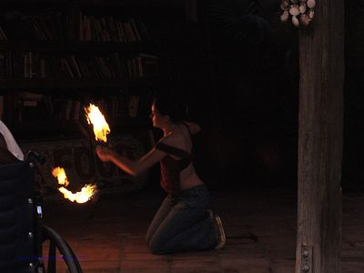 Topanga Fire Dance