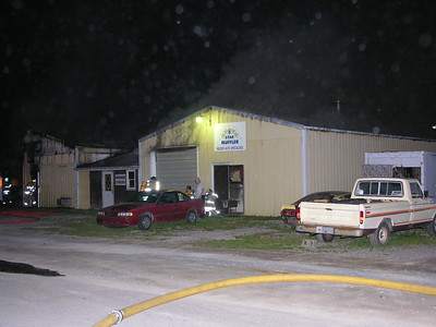 06-16-09 Three Rivers FD Auto Repair Shop Fire