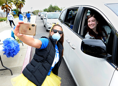 Coronavirus: Will C. Wood seniors pick up caps and gowns from their vehicles