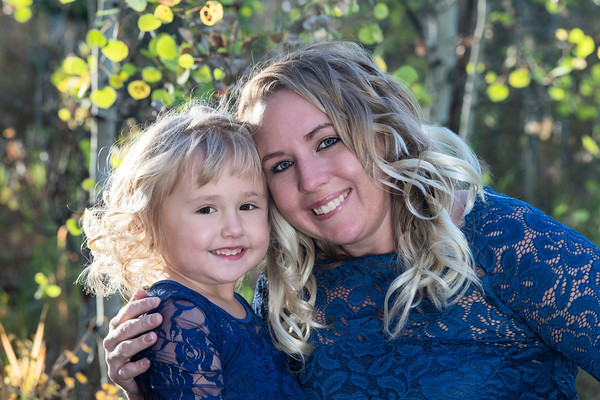 Courtney and Avarie Family Portrait Oct 2020