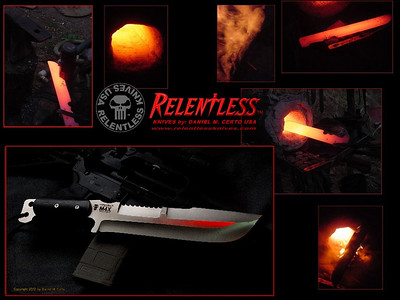 RELENTLESS KNIVES 2018 Gallery CATALOG