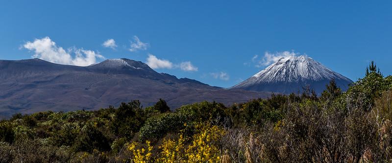 Die ersten Schneeberge meiner Reise: Mount Tongariro und Mount Ngauruhoe