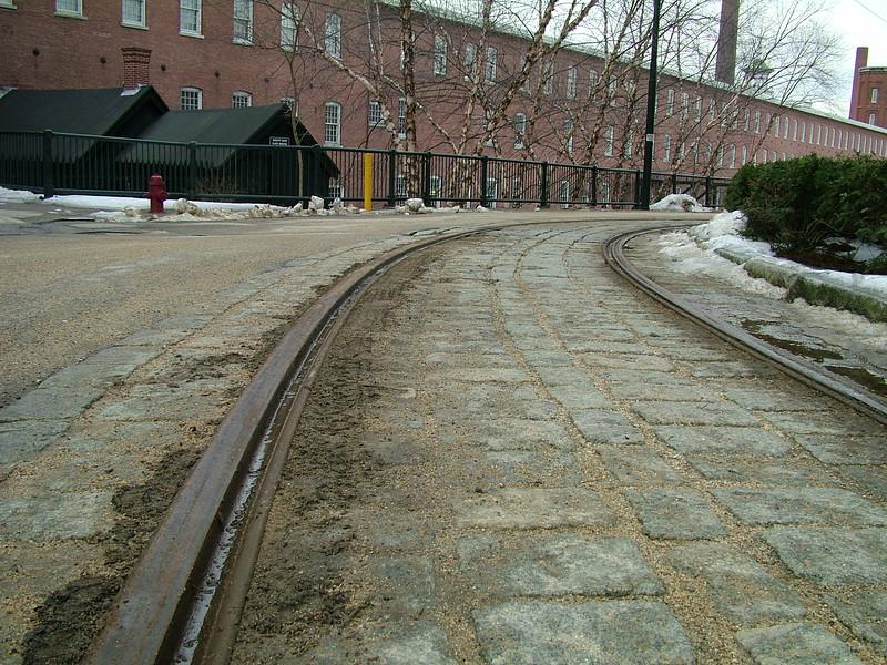 Trolley Tracks - Lowell, MA