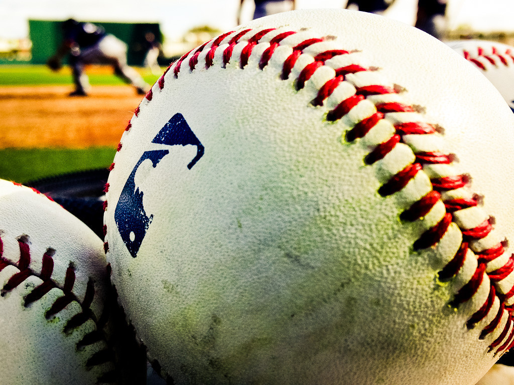 . Baseballs by the hundreds, buckets of them, are found everywhere at spring training. (Pioneer Press: Ben Garvin)