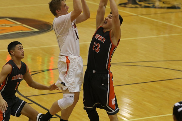 15 Boys Basketball:  Waverly at Wheelersburg 2018