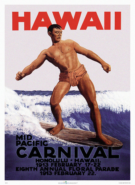 039: Mid Pacific Carnival Festival Poster from 1913.