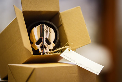 skull belt