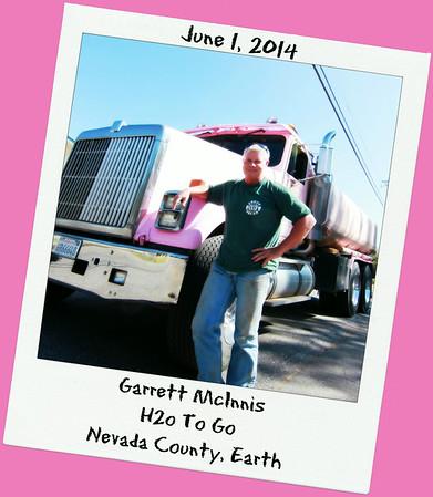 Garrett McInnis ~ He's Got H2oToGo In Grass Valley
