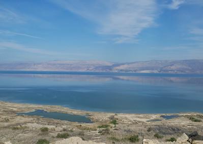 Thursday: Calvary/Garden Tomb, Communion, Qumran, Masada, the Dead Sea,