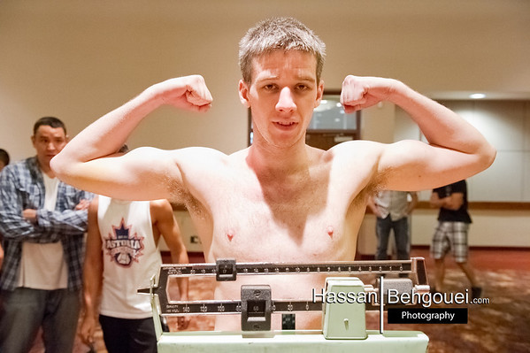 Western Canadian Boxing Championship Weigh Ins Cascade Casino Langley Bc Canada (5_16_13)