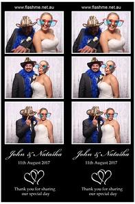 John & Natasha's Wedding - 11 August 2017