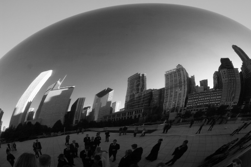 "Chicago, Illinois: ""The Bean"" at Millenium Park"