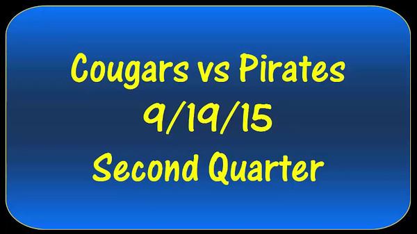 Cougars vs Pirates 9/19/15