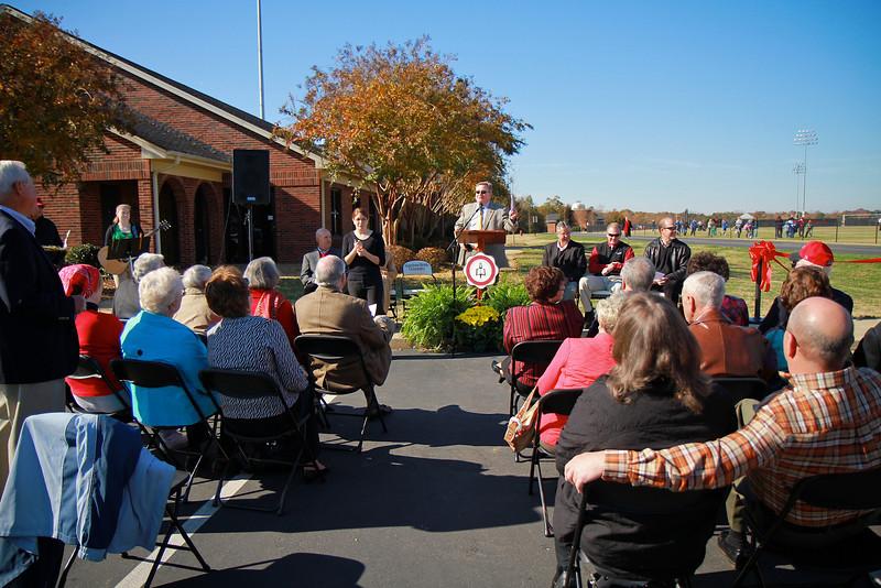 Naming of the Bill & Sue Masters Athletic facility; November 12, 2011.