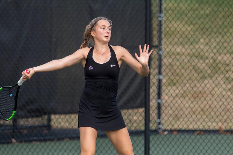Women's Tennis vs. Queen's University of Charlotte Feb 2018
