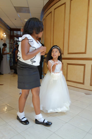Yamileh Pamphile's wedding