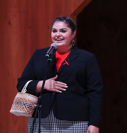 Miss Cherokee pageant, October 8