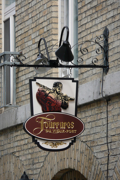 Signage. Quebec City