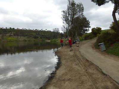 3/22/2014 - Fishing at Laguna Niguel