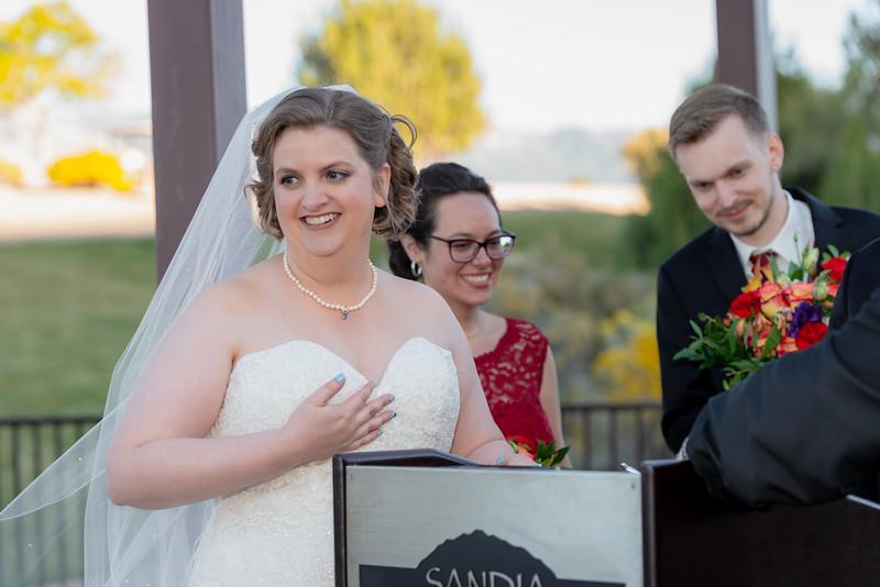 Sandia Hotel Casino New Mexico October Wedding Ceremony C&C-111.jpg