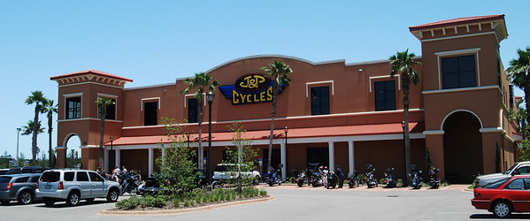35: J & P Cycles Super Store At Destination Daytona in Ormond Beach, Florida including Biketoberfest 2008