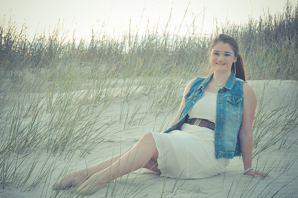 Sunset Beach Senior Portraits