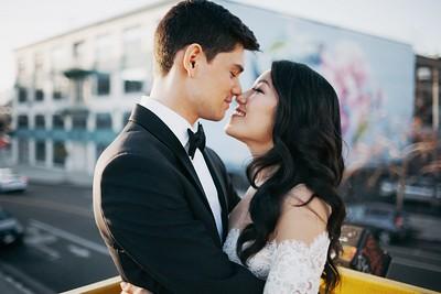 Samuel & Esther. Married.