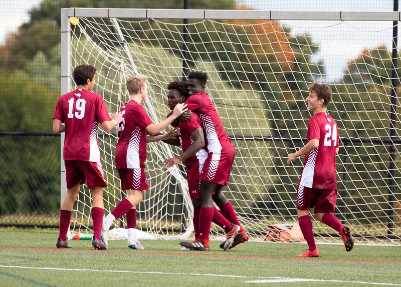 Boys' Varsity Soccer v Gunnery