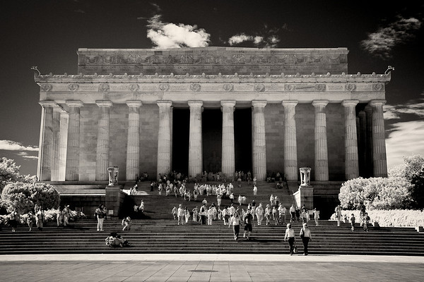 National Mall, Lincoln Memorial and Washington Monument