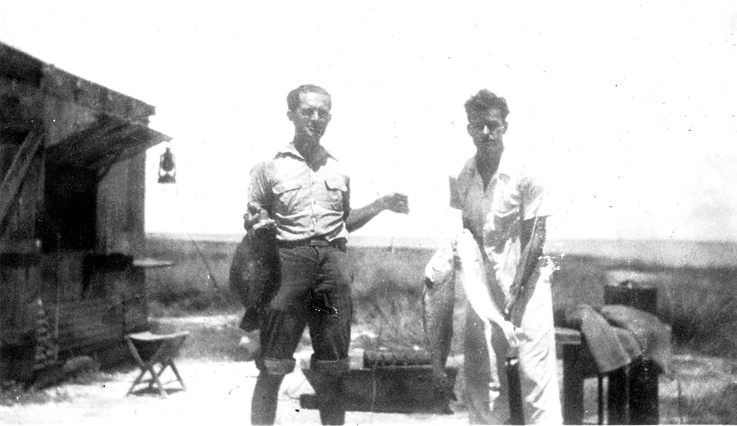 Hunting and Fishing In The 40's