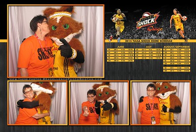 Tulsa Shock Home Opener 2015