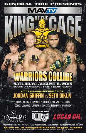 8-8-15 Warriors Collide (ND)
