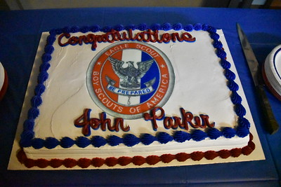J.P. Burell's Eagle Ceremony