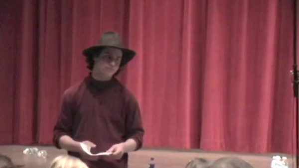 2010-03 Thornton Wilder Performance Video