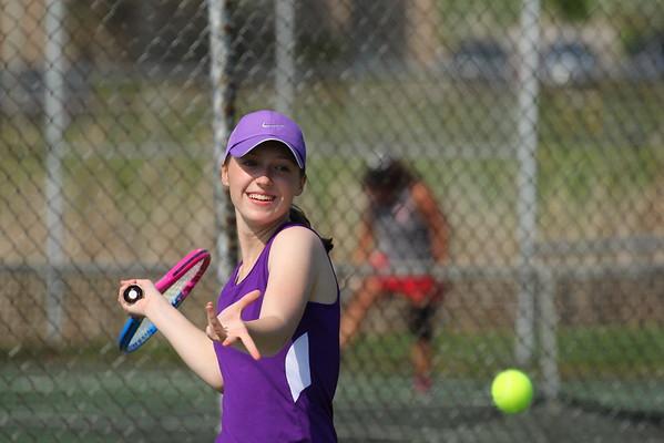 Tennis Girls vs. Constantine - KCHS - 5/6/15