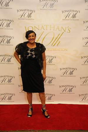 Jonathan's 40th Birthday (Red Carpet)