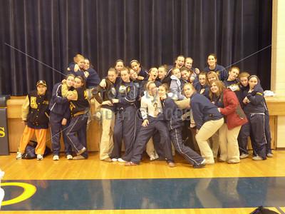 girls bball team . 1.16.10