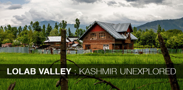 Lolab valley, unexplored offbeat part of Kashmir, India