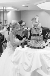 Cake Cut Pam Krzyzek & Nathaniel Nate Gogal New England Wedding- Bride Groom Candid Formal Bridal Church Ceremony Fun Portrait Photographer Lifestyle Photojournalism Local Small Business Kimberly Hatch Photography St Mary's Holyoke Springfield Western Mas
