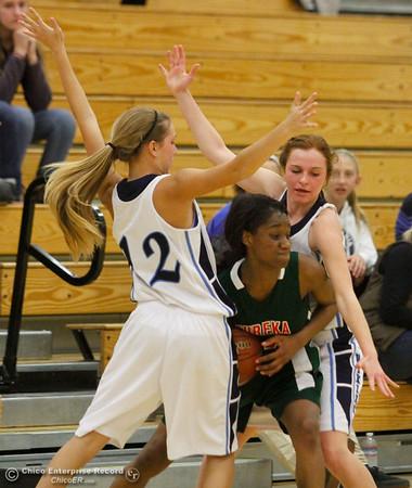 Pleasant Valley girls basketball defeats Eureka